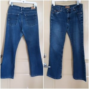 ❤TOMMY JEANS FLARED CROPPED JEANS
